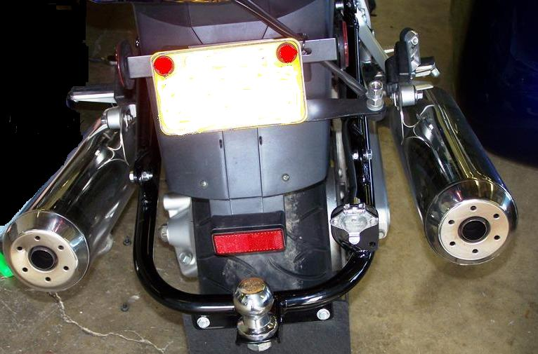 Hitches for Yamaha