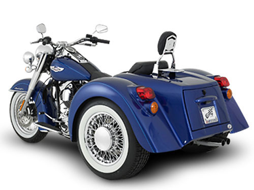 Softail Trike with Independent Rear Suspension