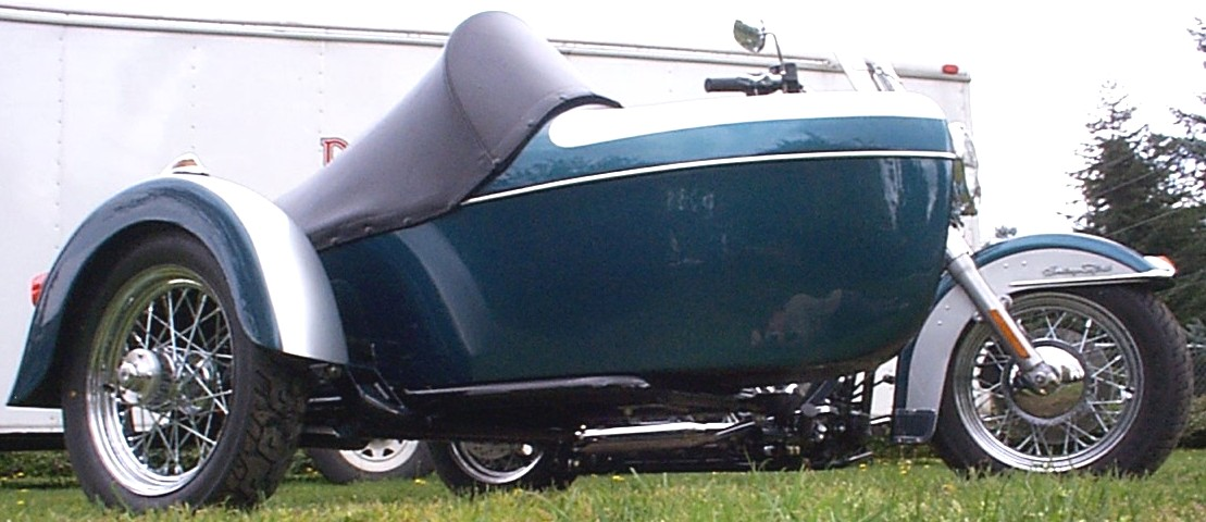 Harley Davidson Softtail with Legend Sidecar