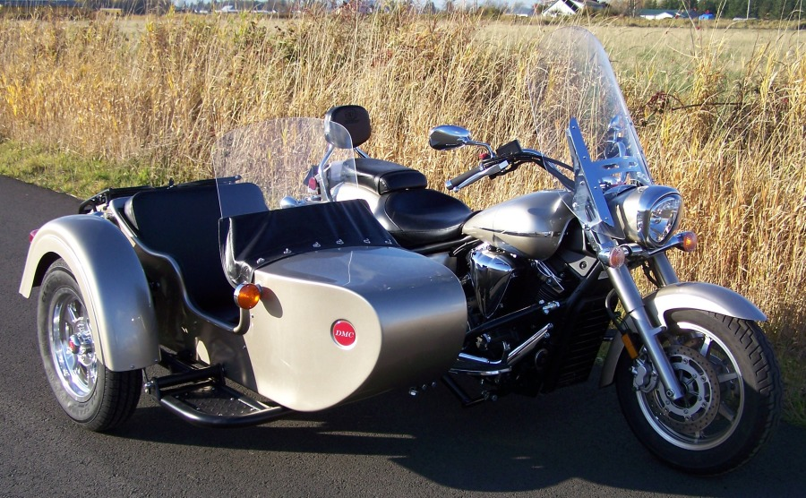 M72CX on a Yamaha Road Star 1300