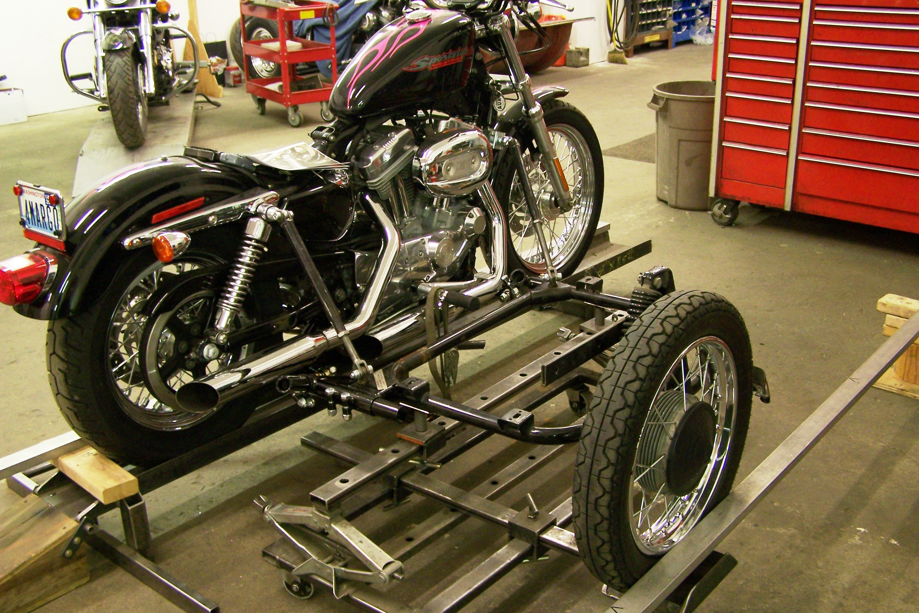 Sidecar Mounting Dmc Sidecars Wiring Diagram For A Rigid Frame With Shovelhead Engine Solved I