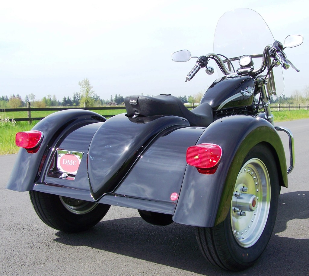 Dmc S Sporty Trike For The Harley Davidson Sportster 2004 And Newer Models