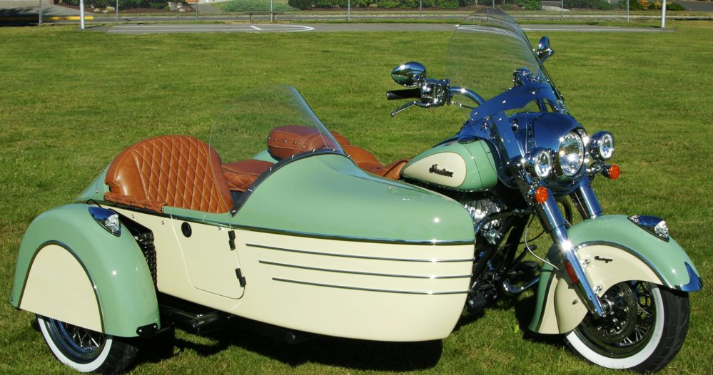 sidecar sidecars tomahawk indian se chief motorcycle trikes le mounts dmcsidecars