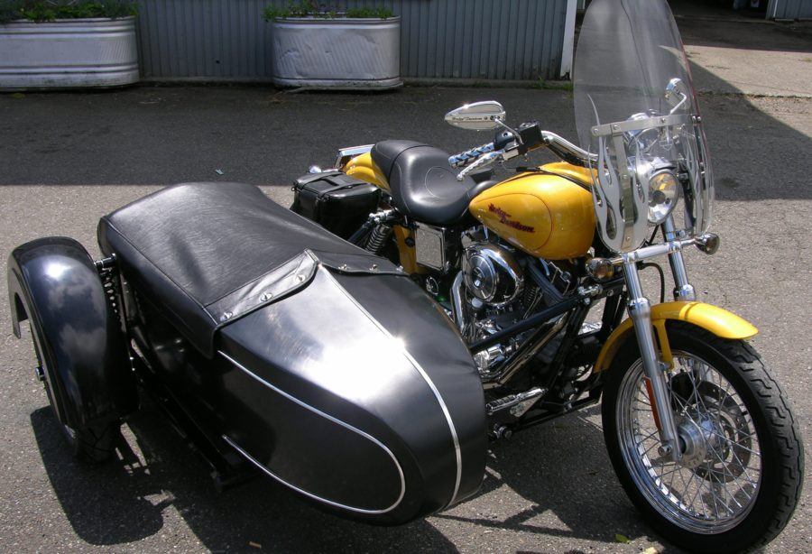Classic Sidecar with Tonneau Cover