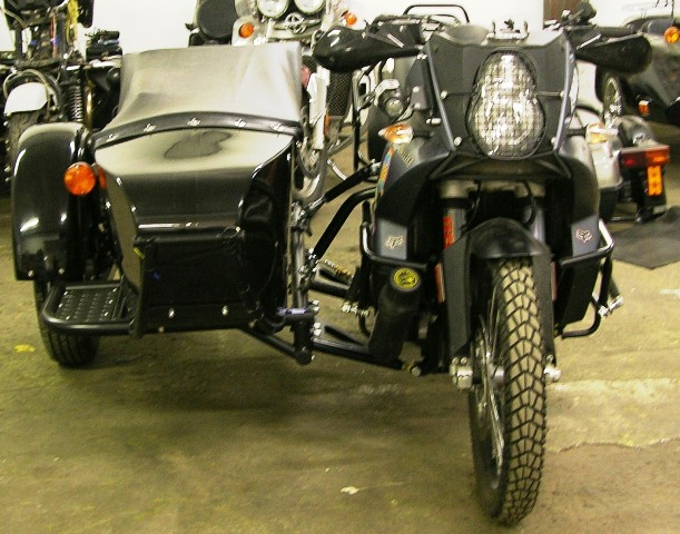 Ktm 990 Adventure With M72d Sidecar